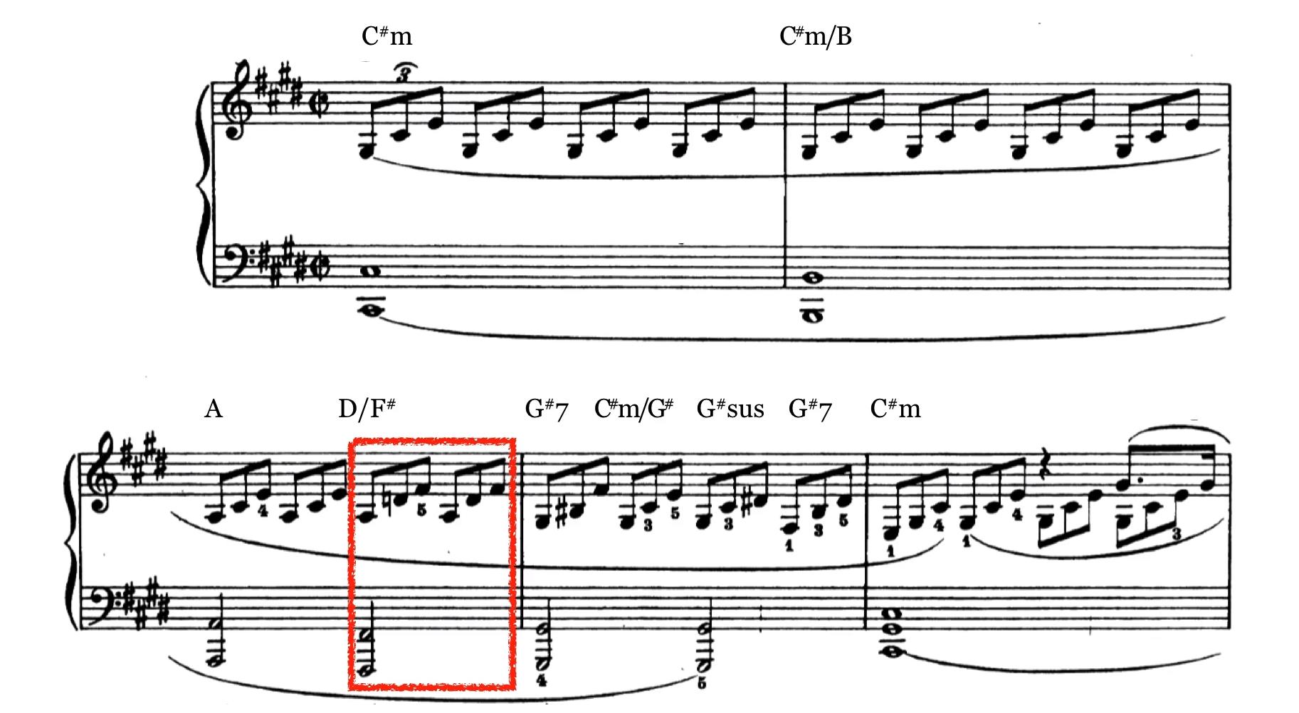 月光奏鸣曲第一乐章